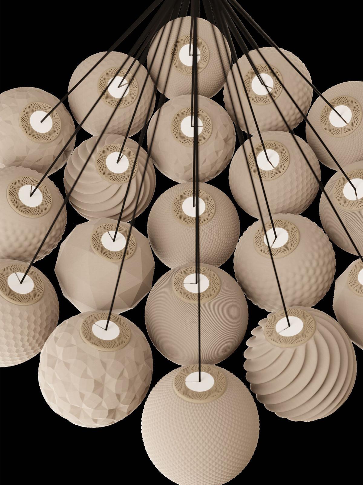 Polyluma Cluster Design Berlin Designerleuchte DesignOrt Lampen Leuchten