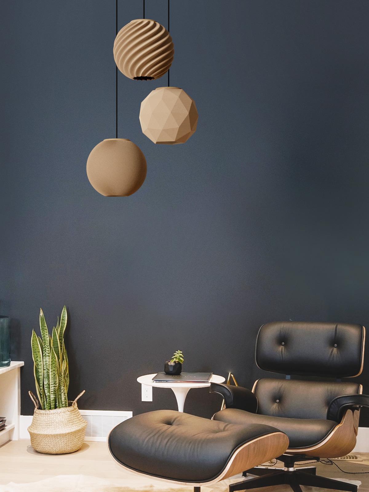 Polyluma Mono Random Leuchten Lampen DesignOrt Onlineshop Licht Designerleuchten Berlin