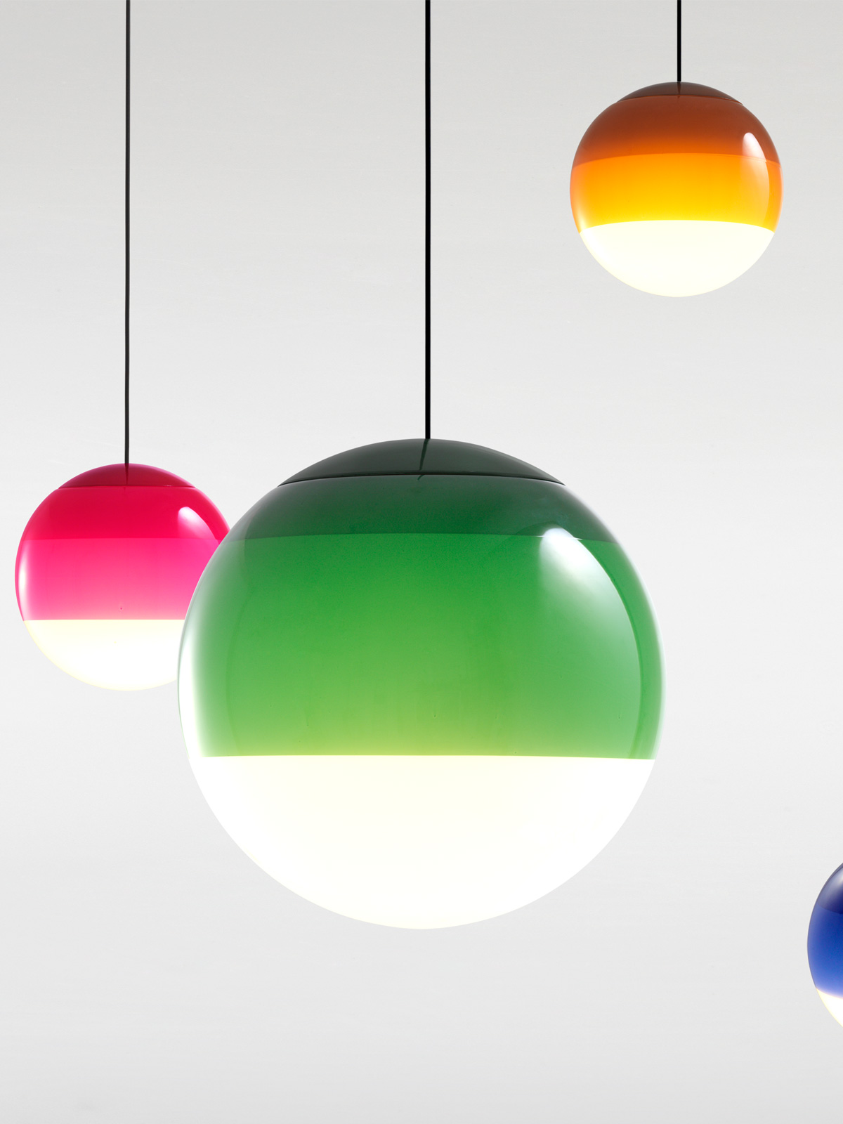 Dipping Light P Marset Glasleuchten rund Ball DesignOrt Blog Lampen Leuchten Onlineshop Berlin