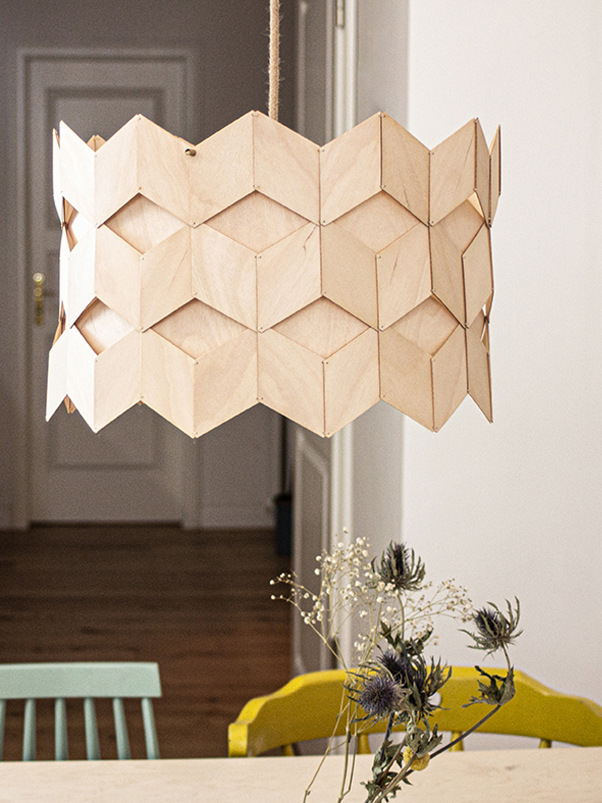 MAERU Rutuu Holz Lampe DesignOrt Onlineshop Lampen Berlin