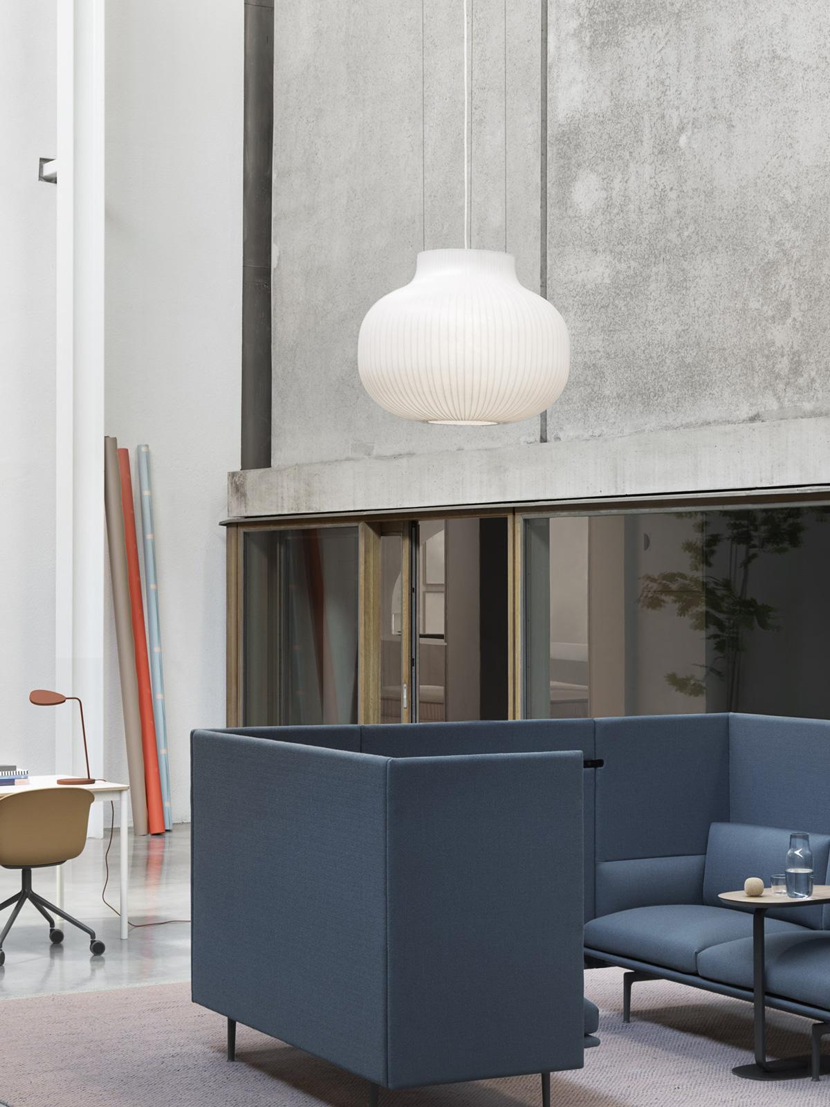 Strand Pendant Closed muuto DesignOrt Berlin