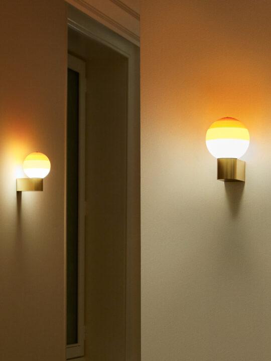 Dipping Light A Wandleuchte farbiges Glas Marset Designort Onlineshop Lampen Berlin