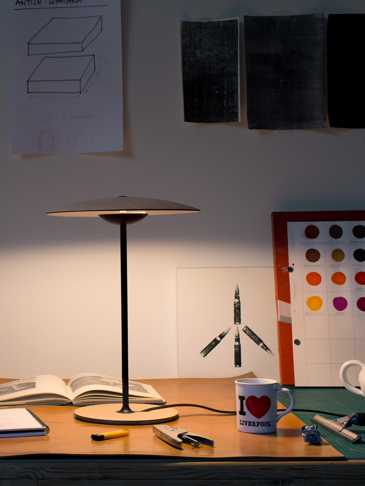 DesignOrt Lampenblog - Ginger Lampenfamilie von Joan Gaspar für Marset