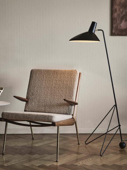 DesignOrt Blog: Tripod HM8 &tradition und weitere dreibeinige Stehlampen