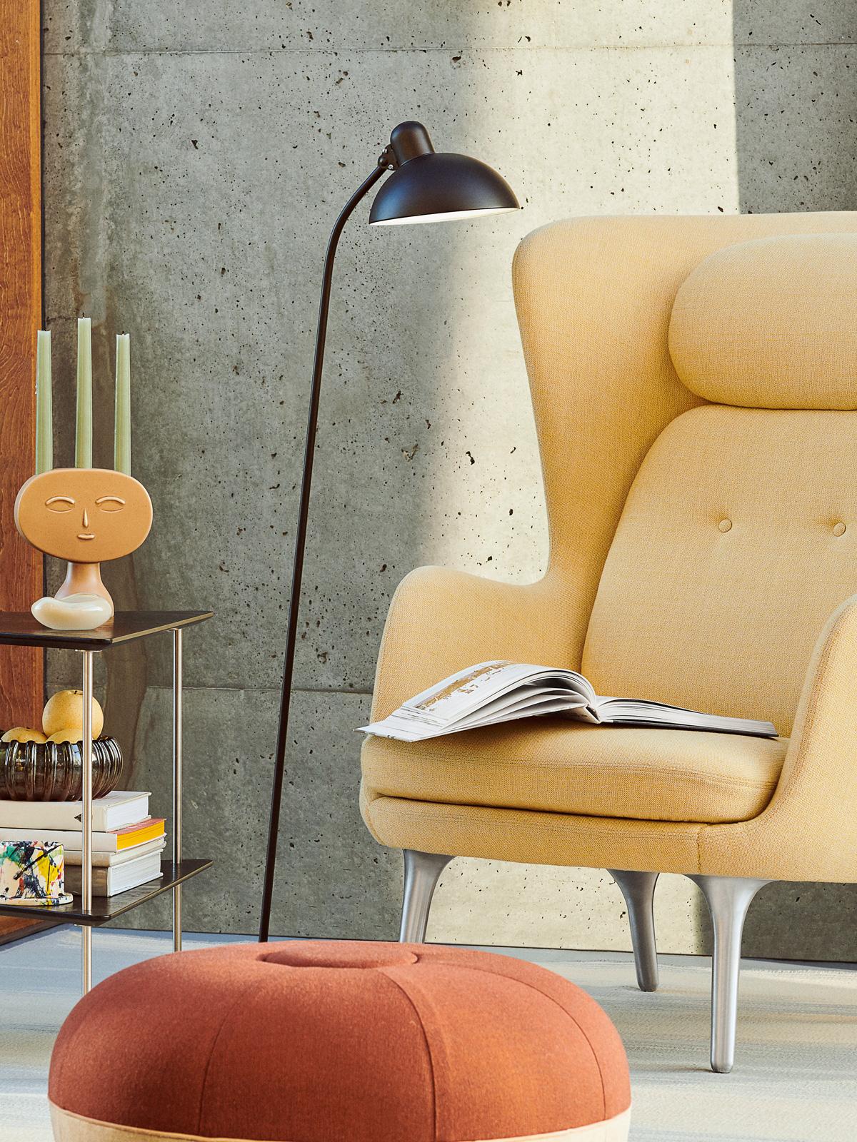 Kaiser Dell Floor 6556-F Fritz Hansen DesignOrt Stehleuchte Designerlampe