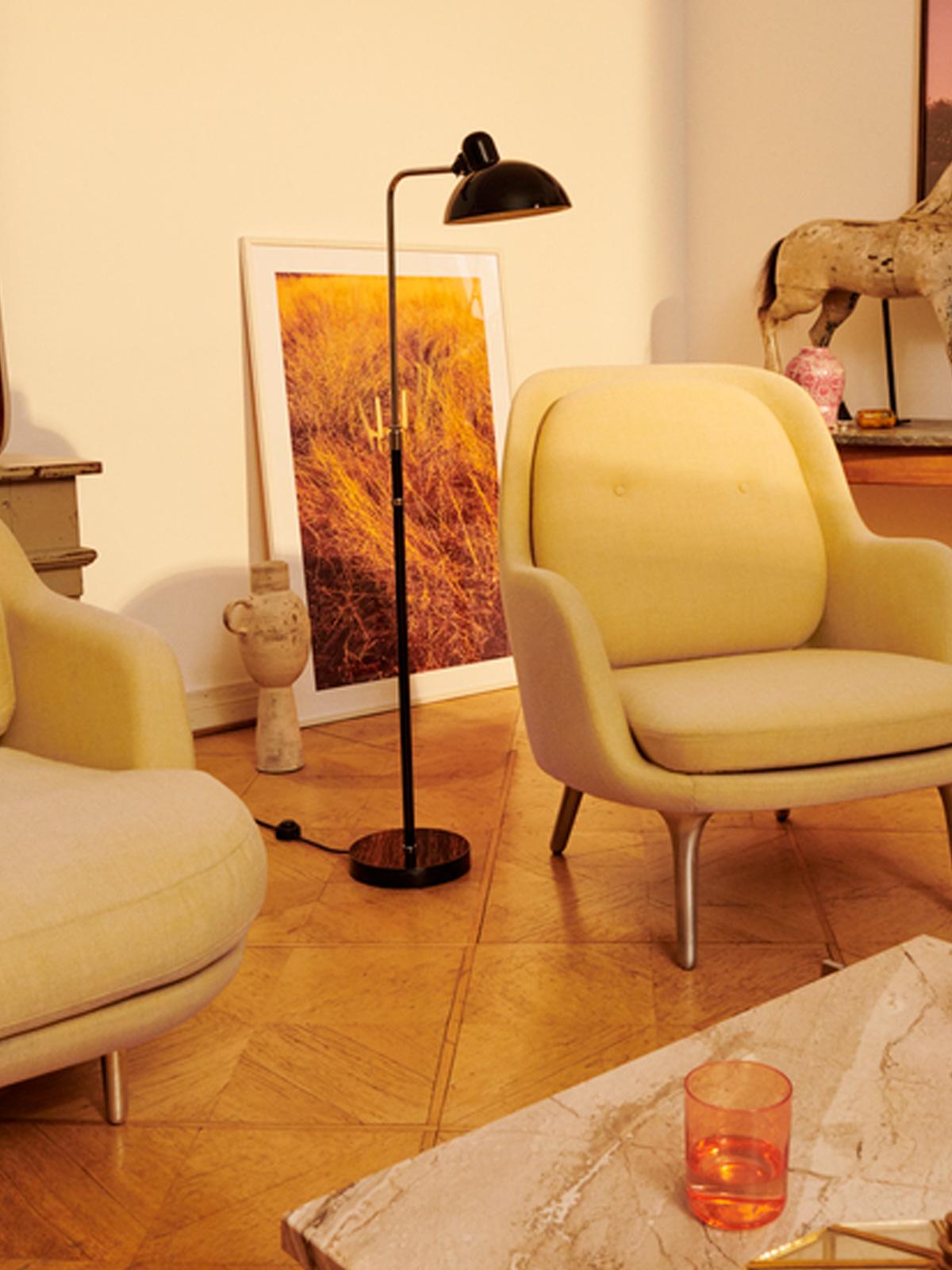 Kaiser Idell F Luxus Republic of Fritz Hansen Designort