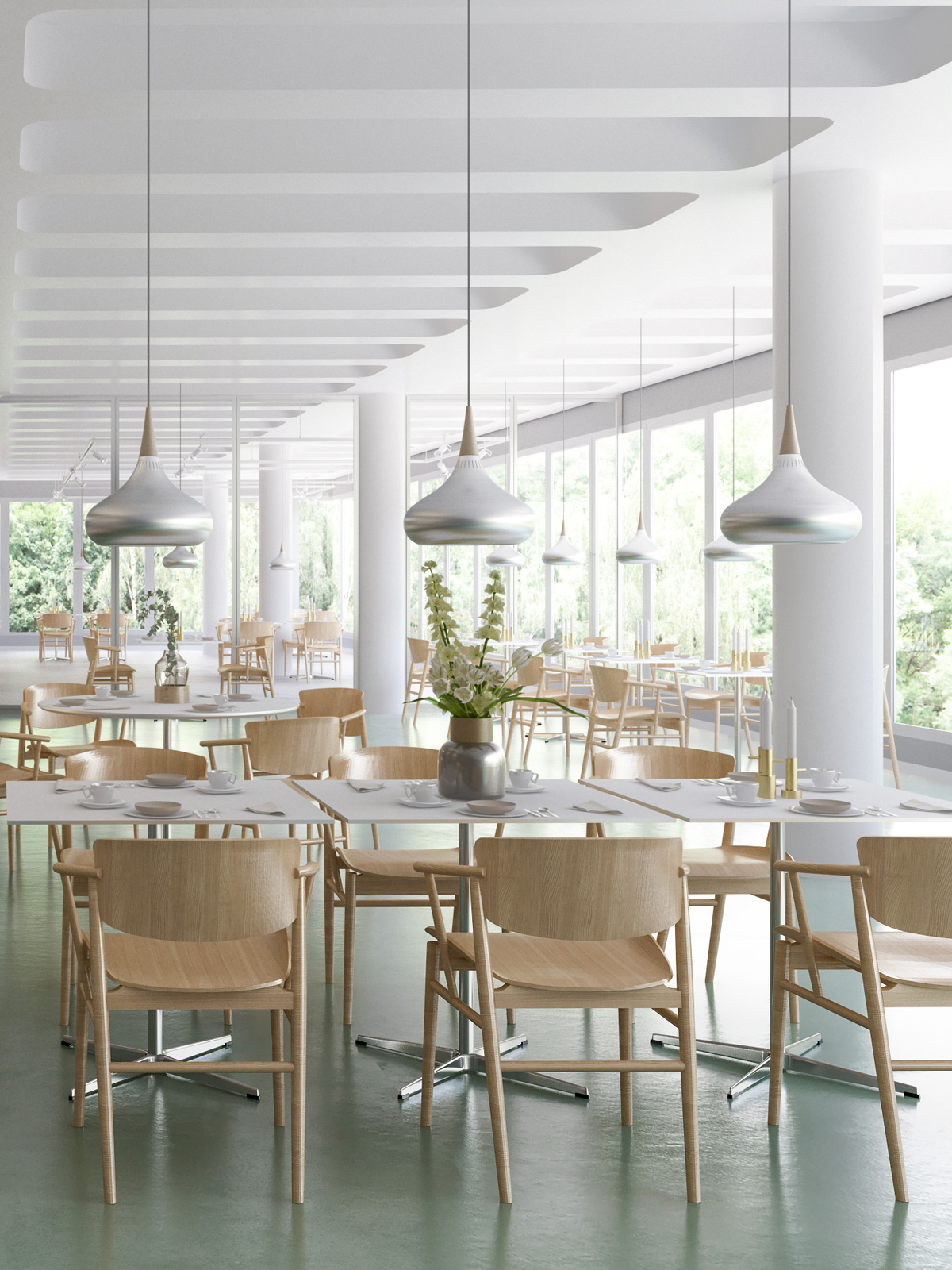 DesignOrt Blog: Orient Aluminium Leuchte