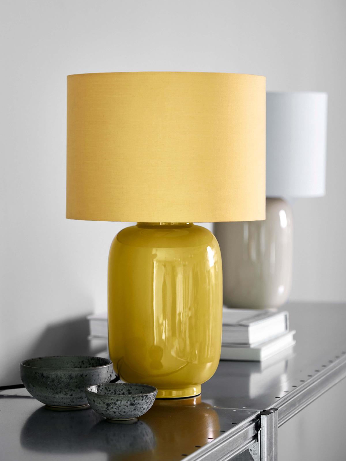 Cadiz Tischlampe Frandsen Textilschirm DesignOrt Onlineshop Lampen Berlin