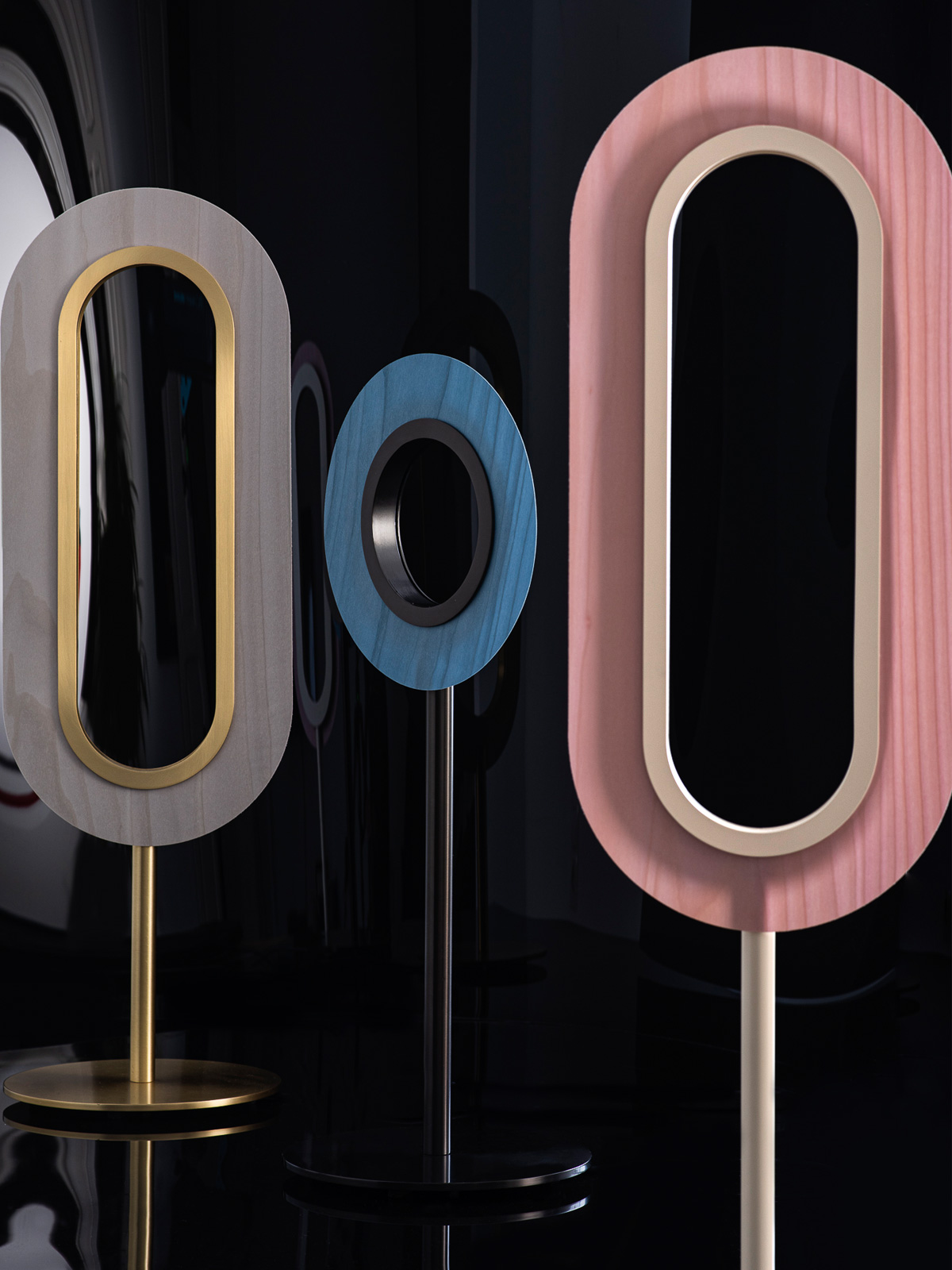 Lens Stehleuchten und Tischleuchten von LZF Lamps DesignOrt Onlineshop Lampen Berlin Leuchten