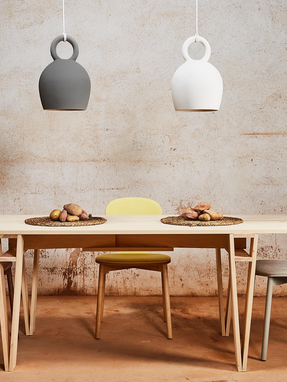 Calo 30 Tischleuchte Keramik Pott Designort Berlin Lampenladen