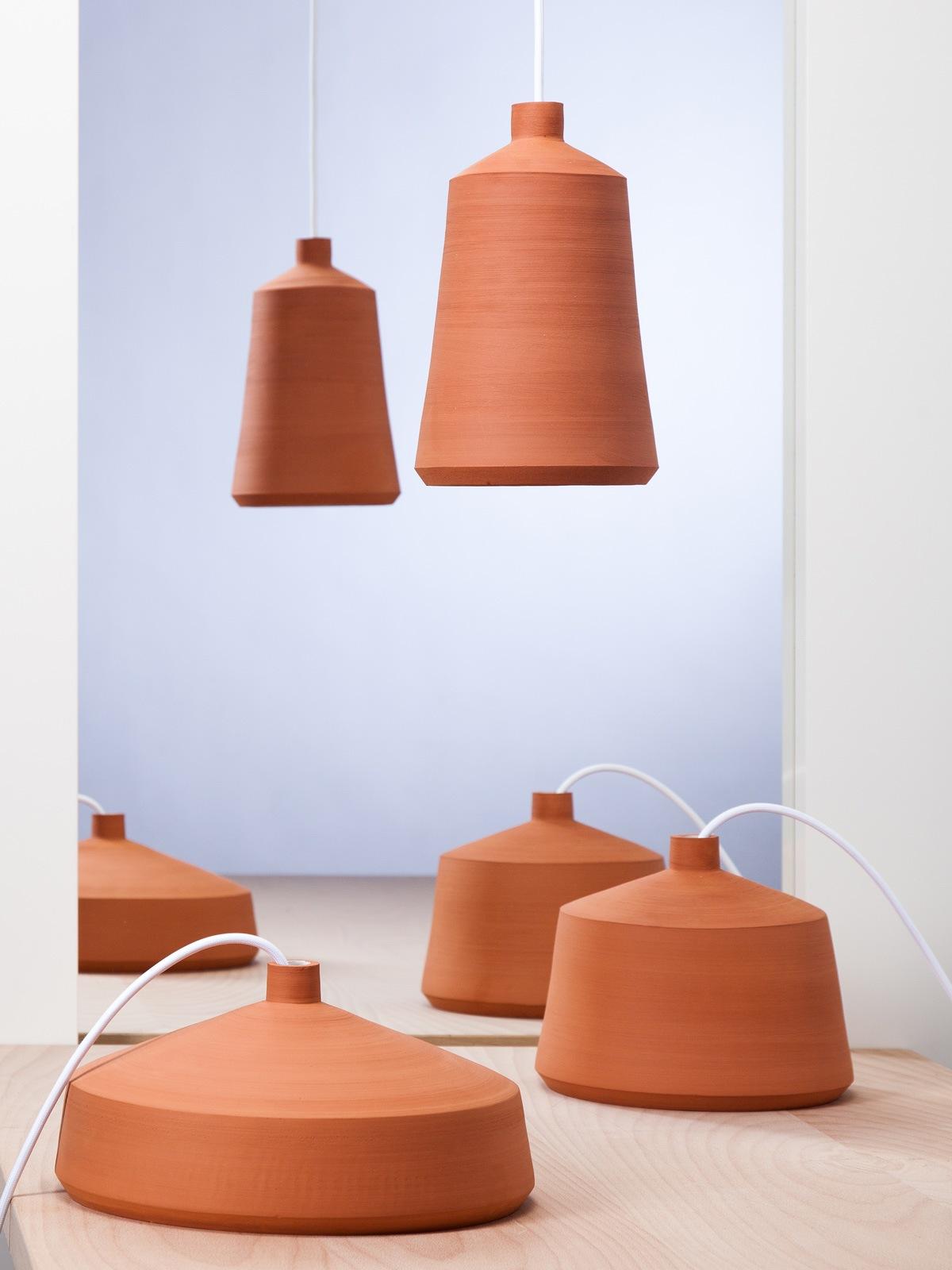 Flame Leuchtenserie Pott Designort