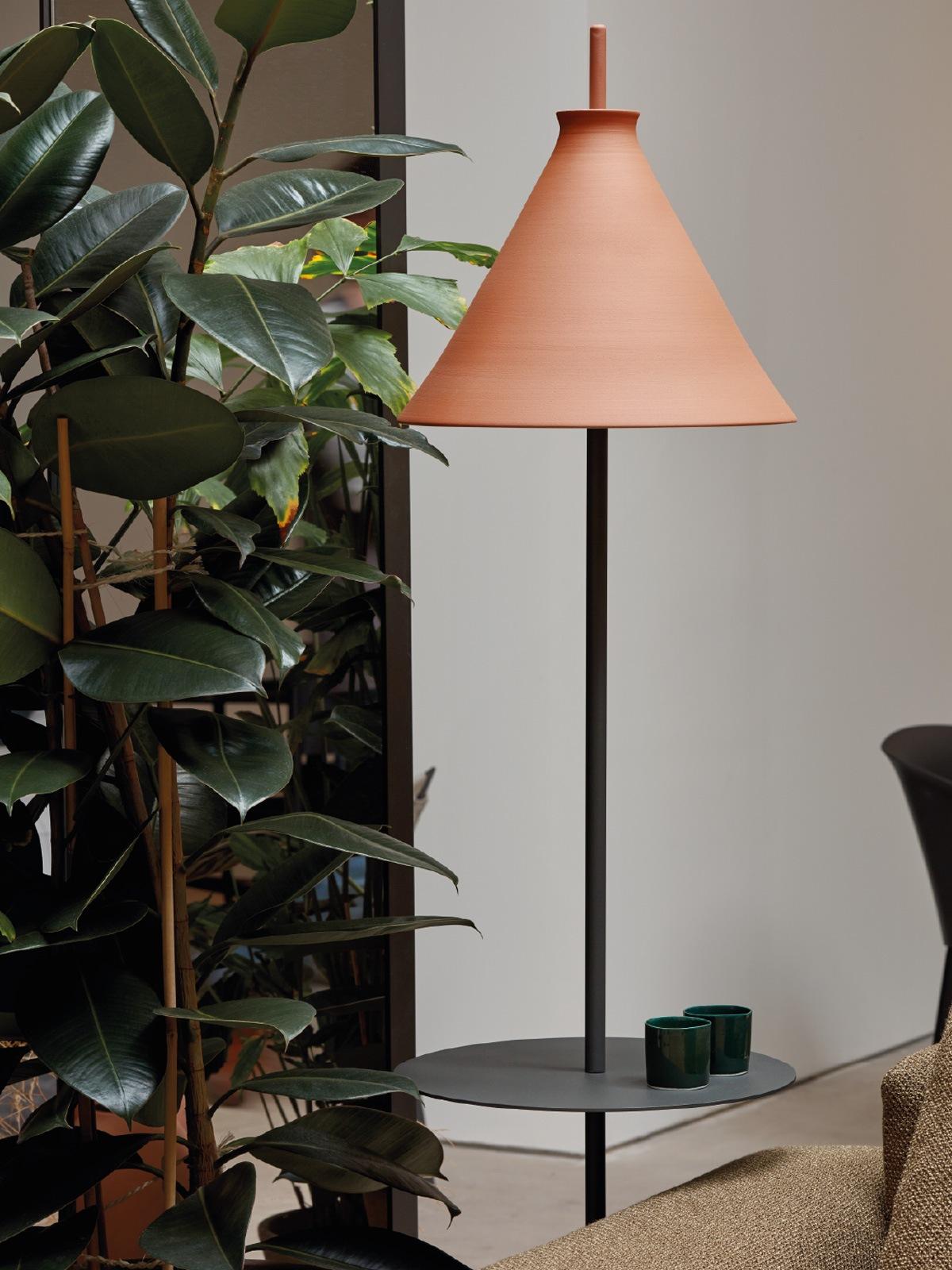 Totana Floor Pott Keramik Lampe DesignOrt Berlin Onlineshop