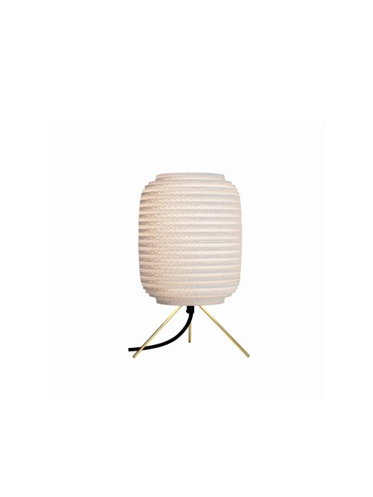 Ausi Table Lamp White DesignOrt Lampen Berlin Graypants Pappleuchte
