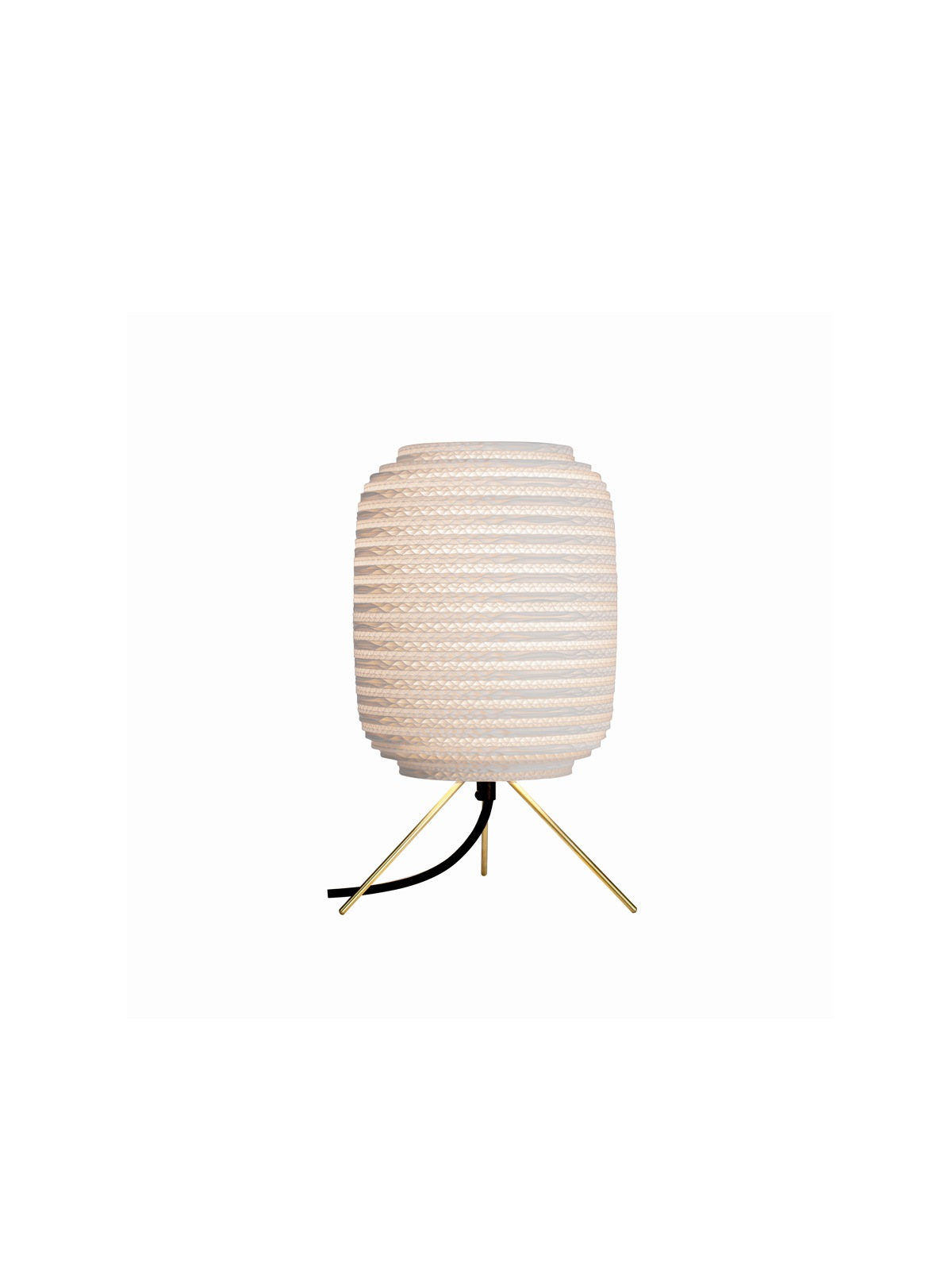 Ausi Table Lamp White DesignOrt Lampen Berlin Graypants Pappleuchte