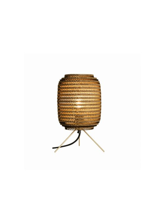 Ausi Table Lamp Natur DesignOrt Lampen Berlin Graypants Pappleuchte