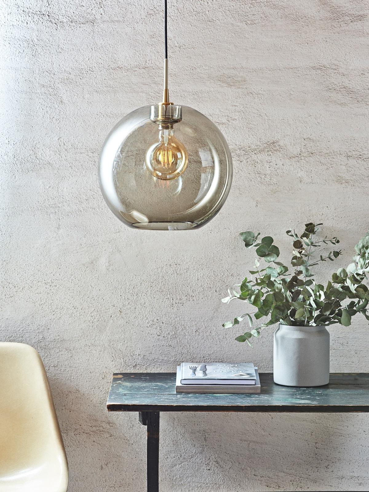 Gloria Rauchglas Belid DesignOrt Lampen Berlin Onlineshop