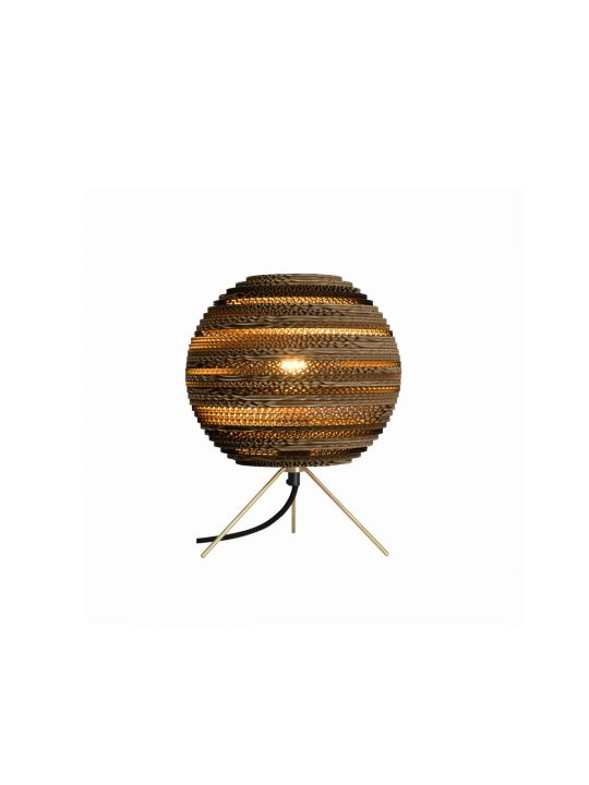 Moon Table Natur Tischlampe Graypants Pappe Designort Lampen Berlin