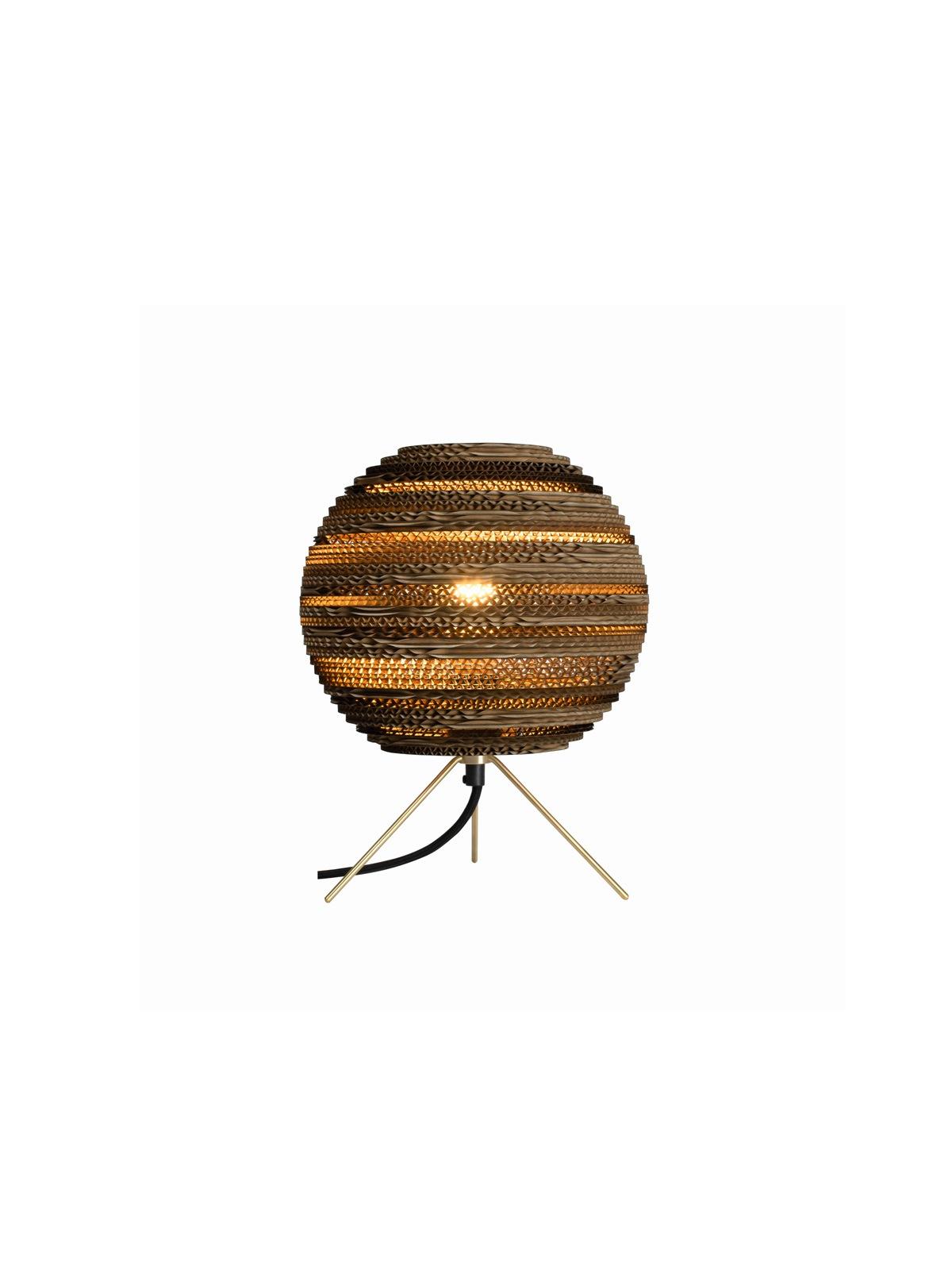Moon Table Natur Tischlampe Graypants Pappe Designort Lampen Berlin