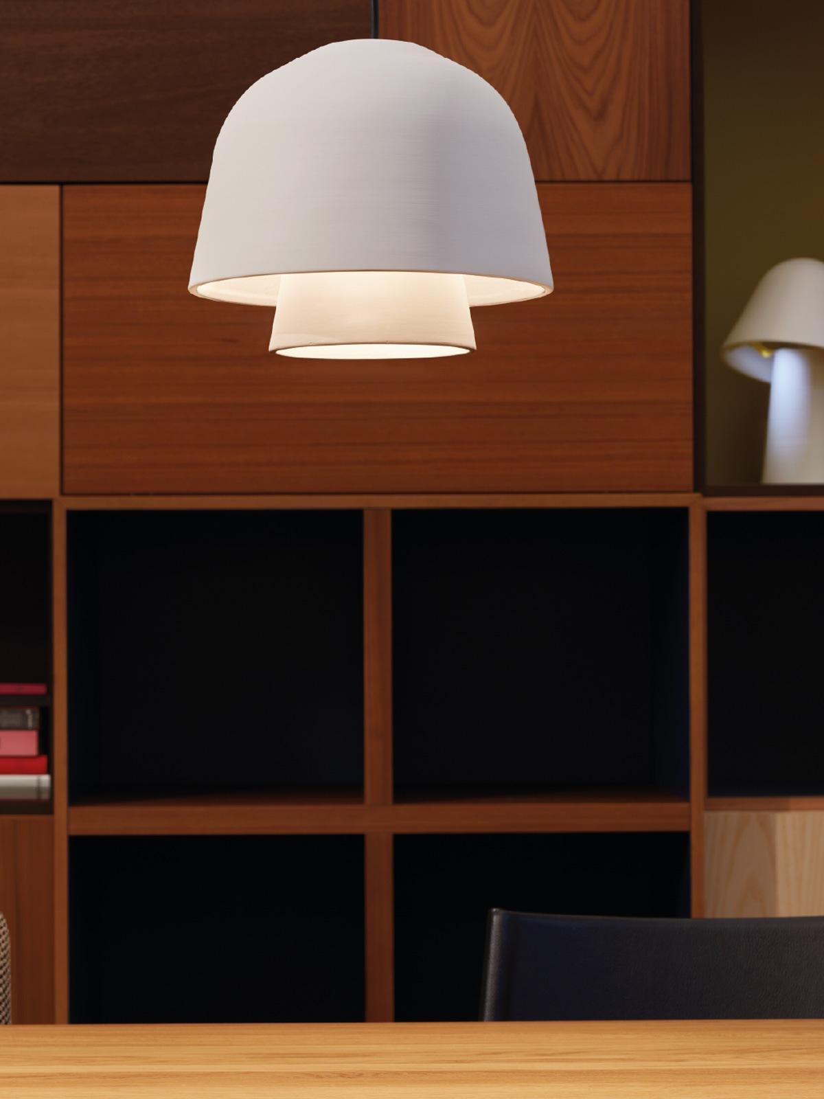 DesignOrt Blog: Leuchten wie Pilze Okina 30 Pott Keramikleuchte Designort Lampen Berlin Onlineshop
