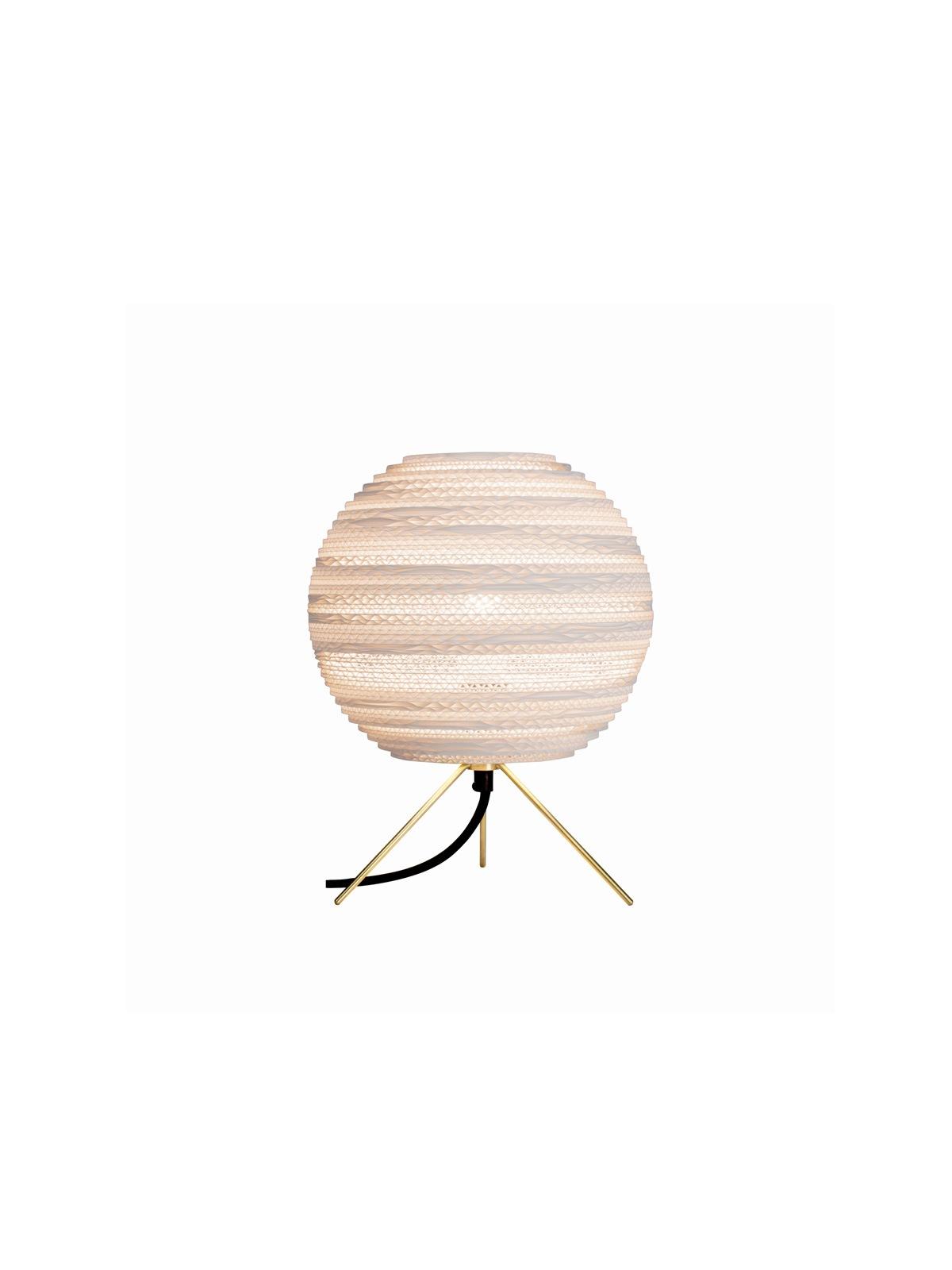 Moon Table white Tischlampe Graypants Pappe Designort Lampen Berlin