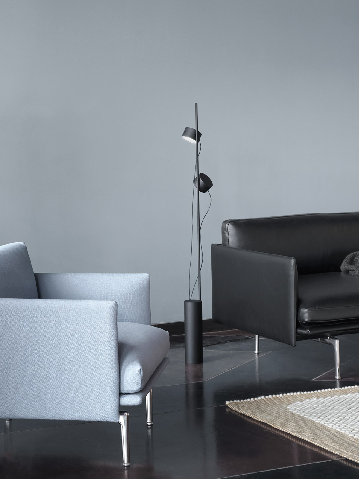 Post Floor Lamp muuto Designort Stehlampe