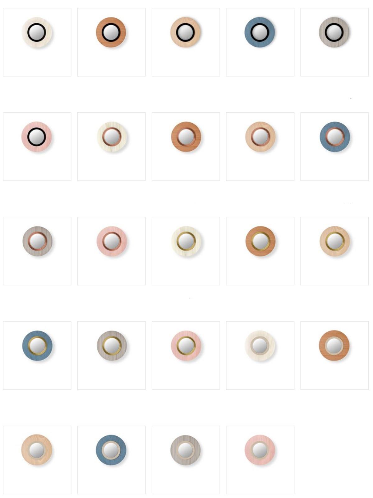Lens A R Runde Wandleuchte Circular Wall LZF Lamps Designort Berlin Lampen