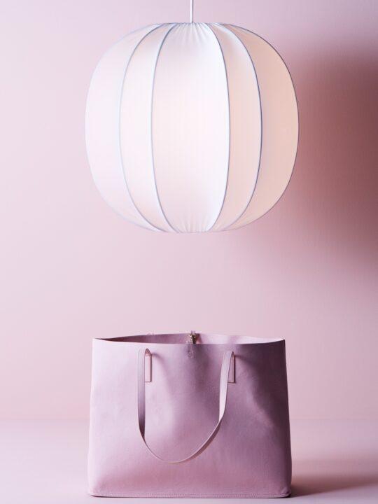 Neo Pendelleuchte Textil Herstal Belid DesignOrt Lampen Berlin