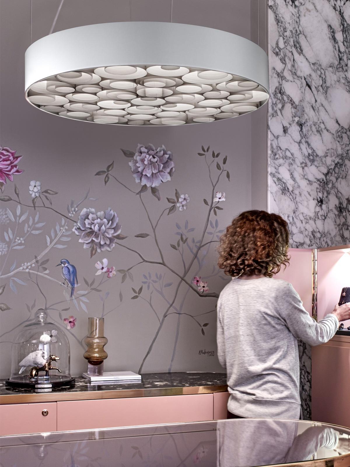 Spiro LZF Pendelleuchte Holz DesignOrt Lampen Berlin
