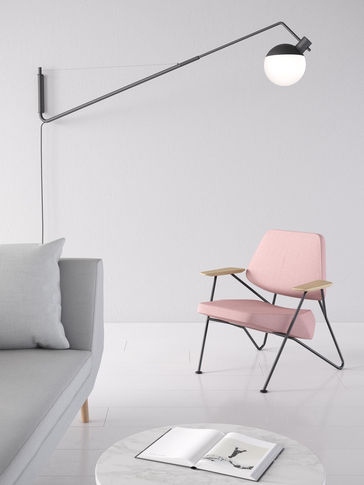 Baluna W Large Wandleuchte Grupa Products DesignOrt Lampen Berlin Onlineshop