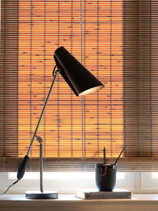Birdy Tischleuchte Chrom & Schwarz Northern Designort Berlin Lampen Onlineshop
