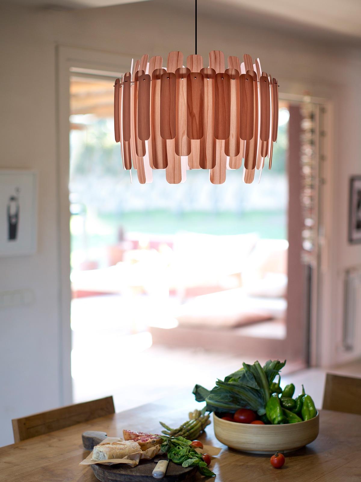 Maruja Holzleuchte Pendelleuchte DesignOrt Berlin Lampen Onlineshop