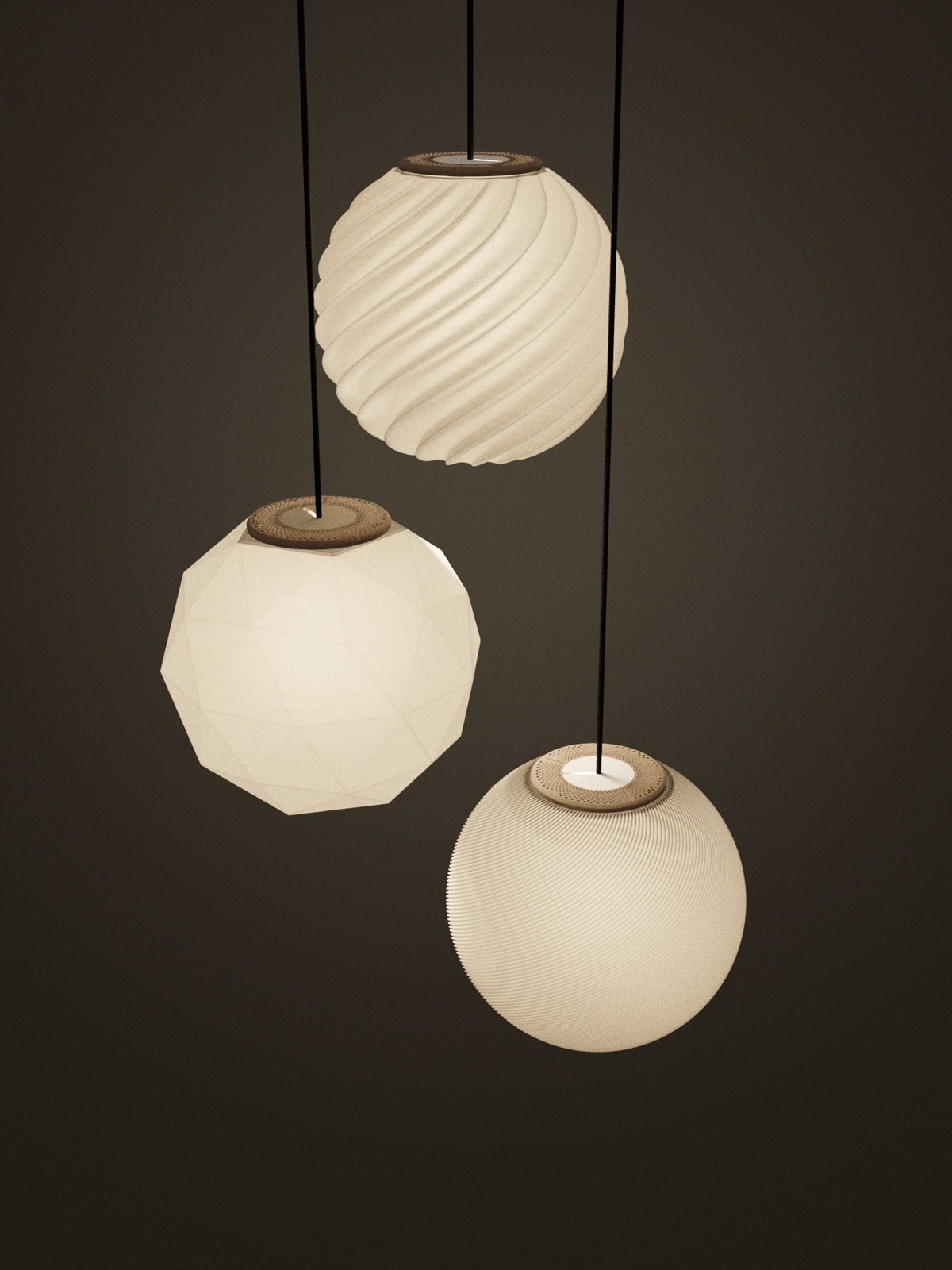 Random 3a Flachs Polyluma Designerlampe Designort