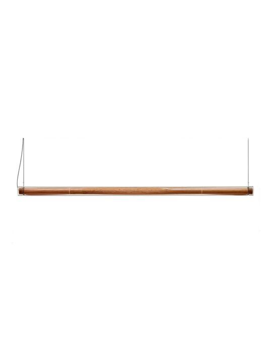 LZF Estela Pendelleuchte mit Holz und Glas DesignOrt Onlineshop Lampen Berlin