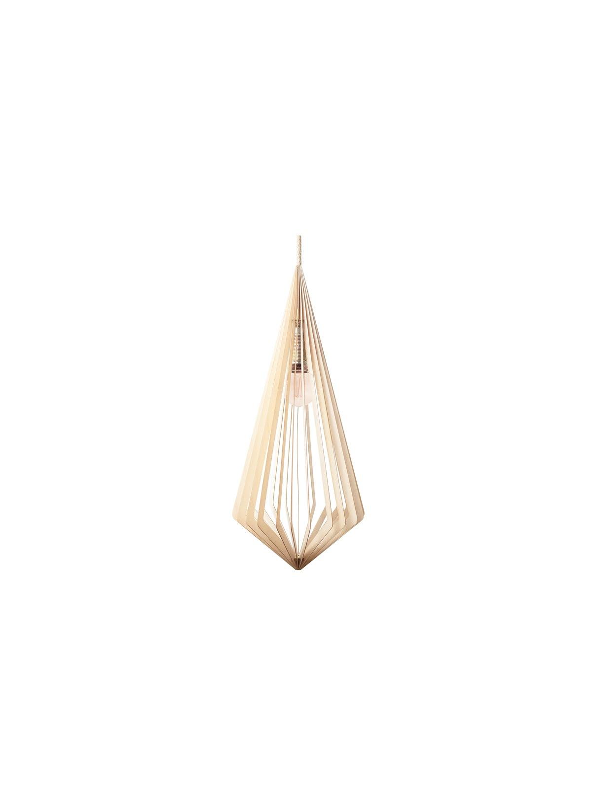MAERU Maari Pendel Leuchte Holz Designort Lampen Leuchten Berlin