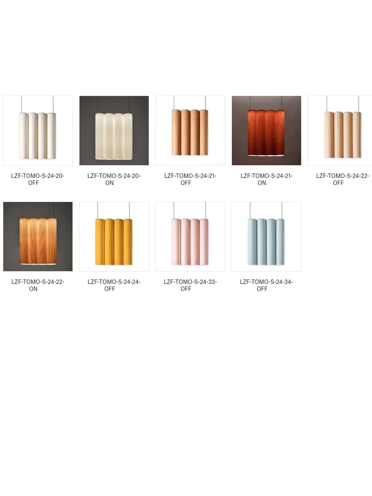 Tomo Tall LZF Holzleuchte Farben DesignOrt Berlin Onlineshop Lampen