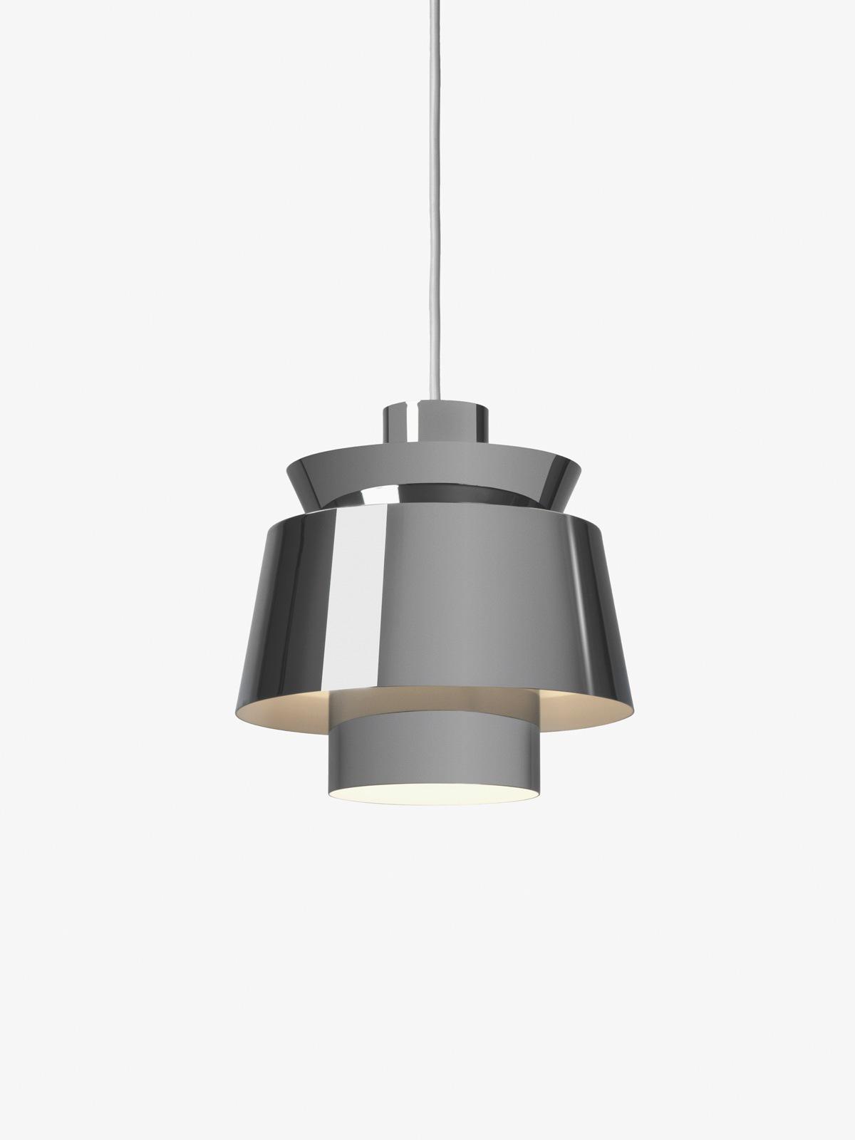 Utzon JU1 Chrom Leuchte Silber &tradition Designort