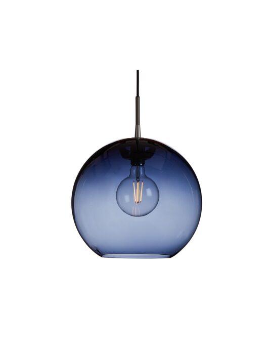 Gloria Blau Glasleuchte Belid Pendelleuchte DesignOrt Lampen Onlineshop Berlin