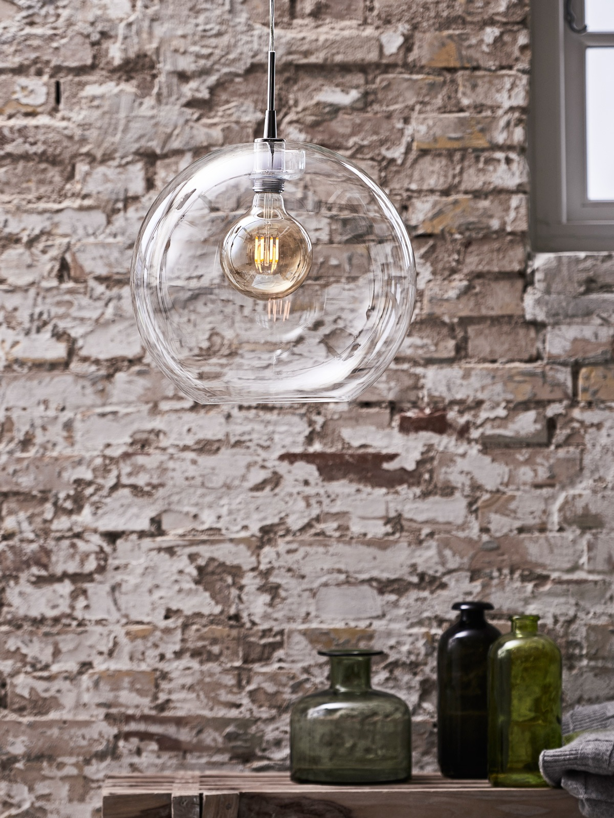 DesignOrt Blog: Gloria Klar Glasleuchte Belid DesignOrt Lampen Onlineshop Berlin
