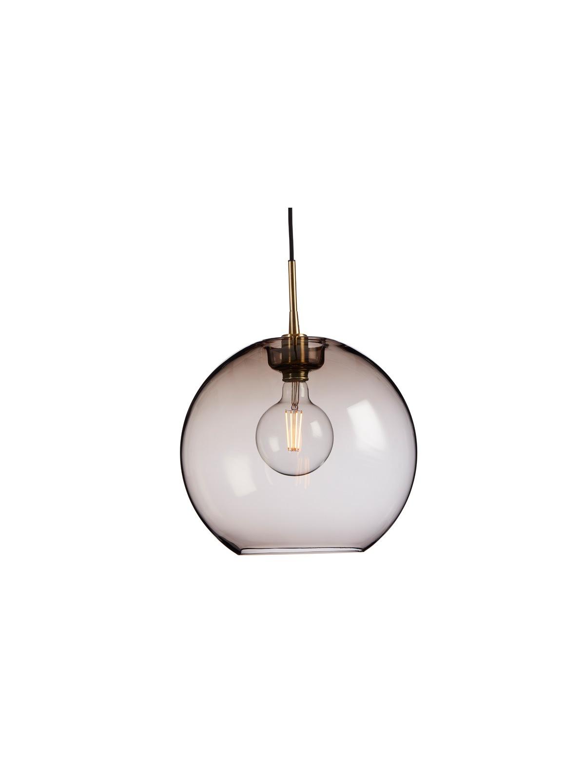 Belid Gloria Rauchglas Leuchte Glas skandinavisch DesignOrt Onlineshop Lampen