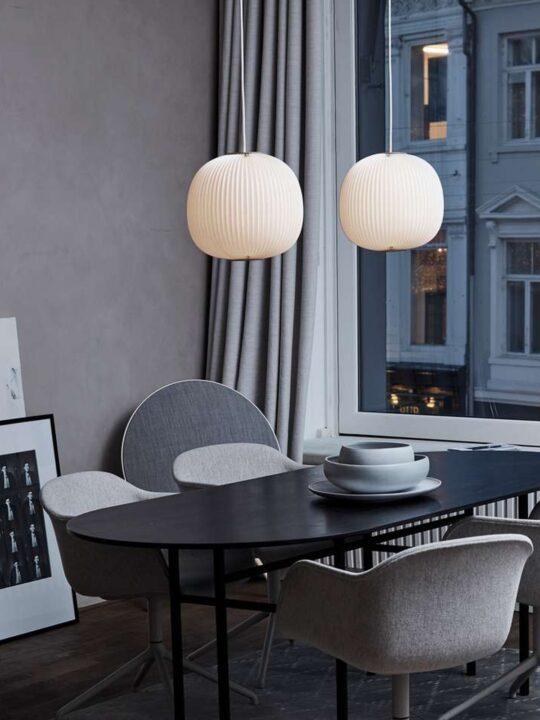 Le Klint Lamella Leuchte handgefaltet skandinavisch DesignOrt Lampen Berlin