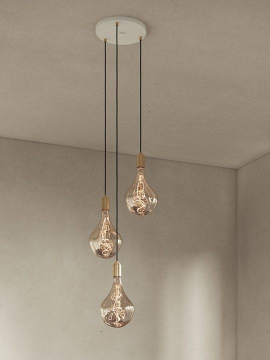 Triple Pendant Tala Messing Designort