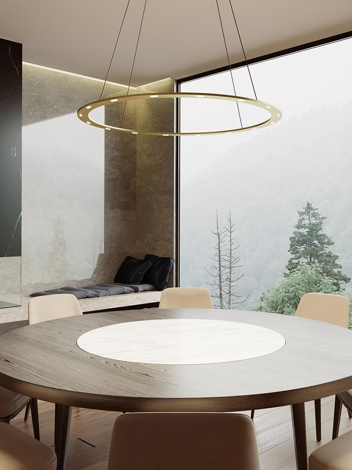 BYOK Piani Rondo flache Leuchte DesignOrt Lampen Berlin