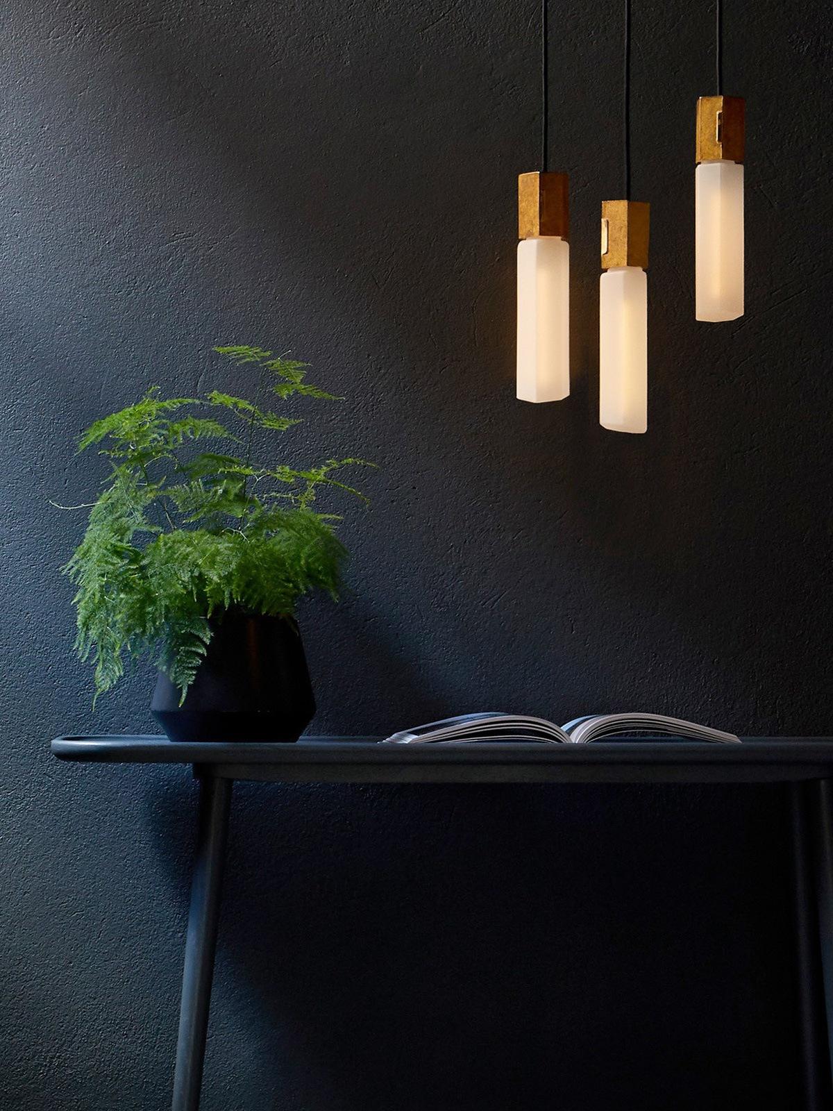 DesignOrt Blog: Nackte Glühbirne Tala Basalt Pendant Leuchten