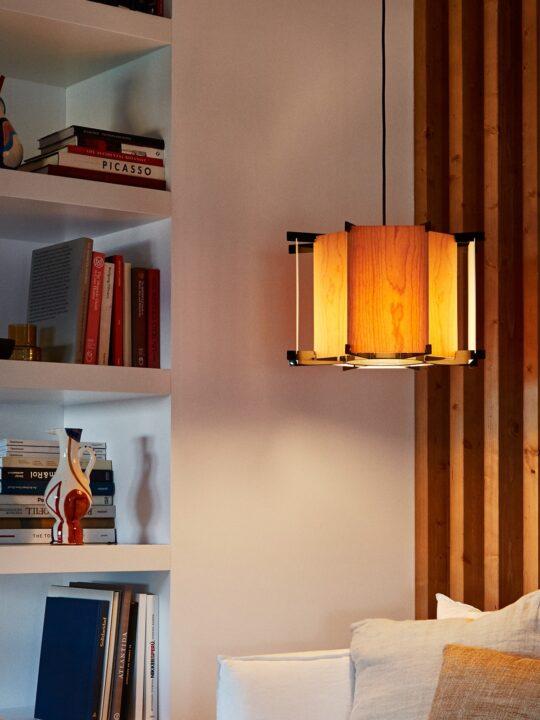 Retro Holzleuchte von Marset DesignOrt Onlineshop Lampen