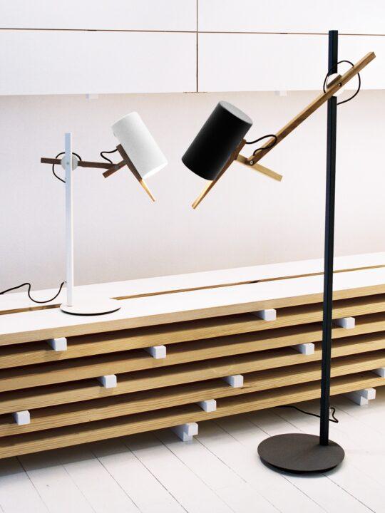 Marset Skantling Stehleuchte und Tischlampe DesignOrt Leuchten Berlin Onlineshop