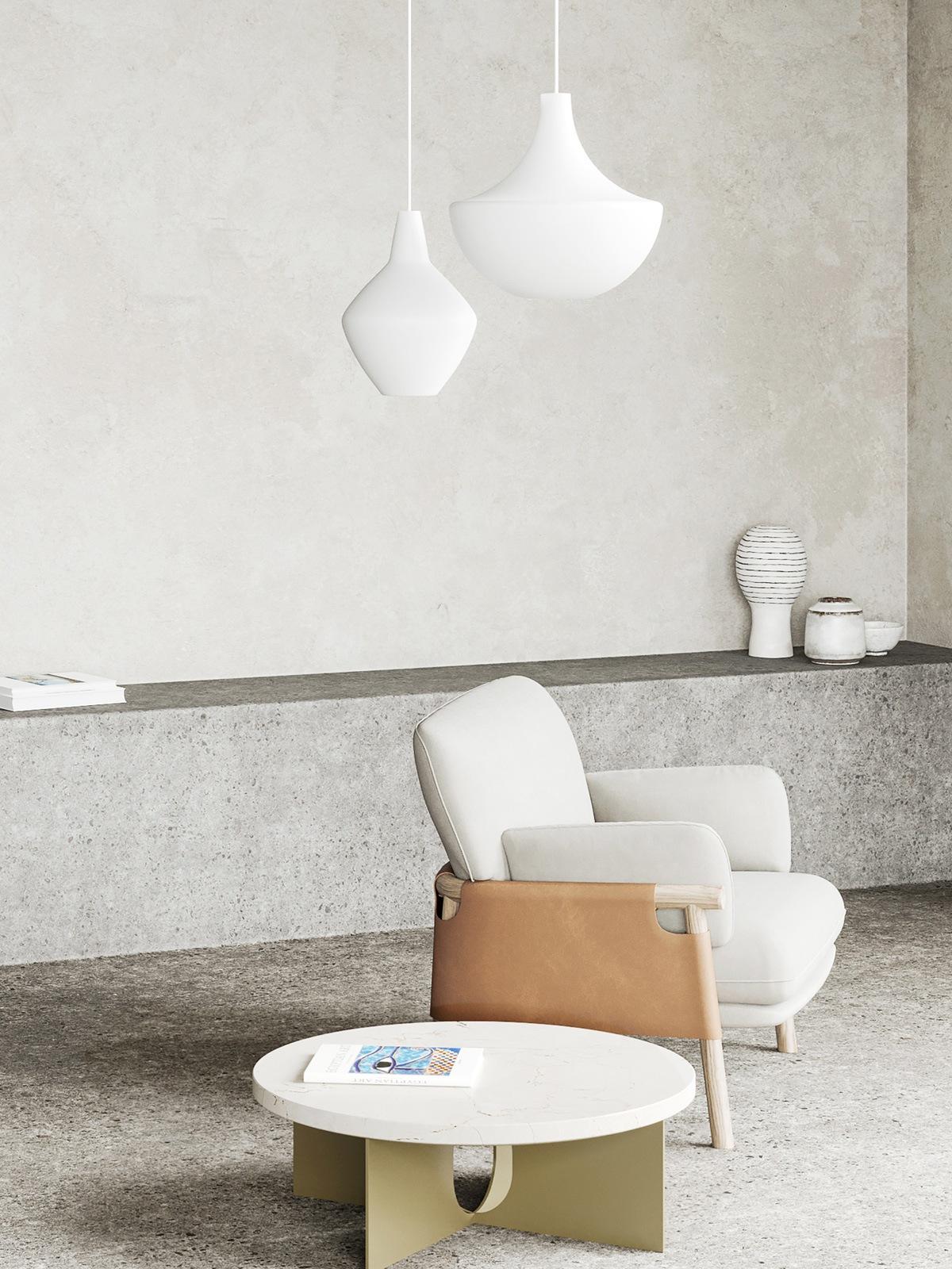 DesignOrt Lampenblog: Innolux Belle und Sipuli Pendelleuchte aus Glas DesignOrt Berlin Lampen