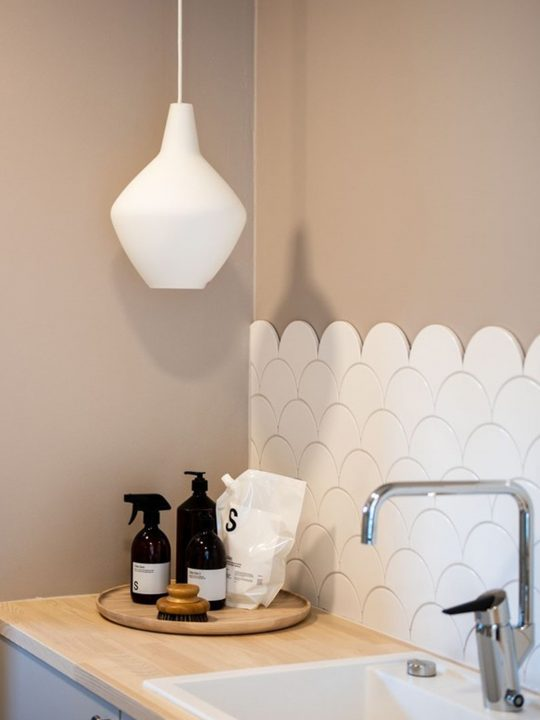 Leuchte Innolux Lampe Sipuli Zwiebelleuchte aus Milchglas Designort