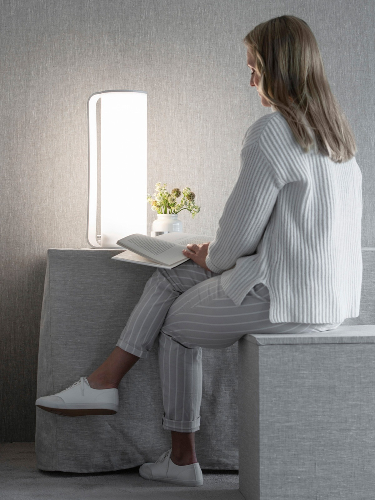 Lampe zur Lichttherapie Innolux Tubo Wellnessleuchte DesignOrt Lampen Berlin