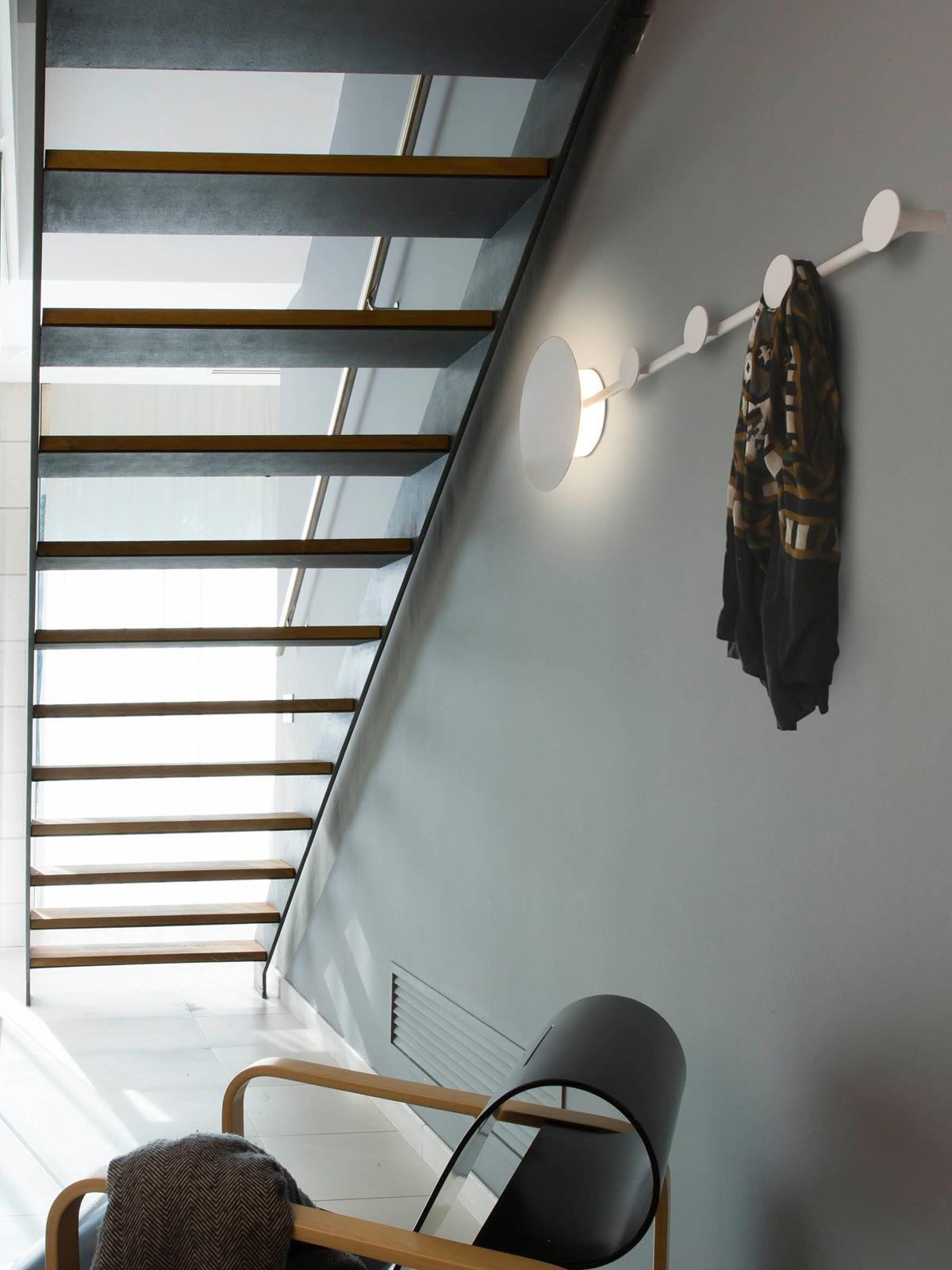 Faro Lampe Han LED Aplique Coat rack DesignOrt