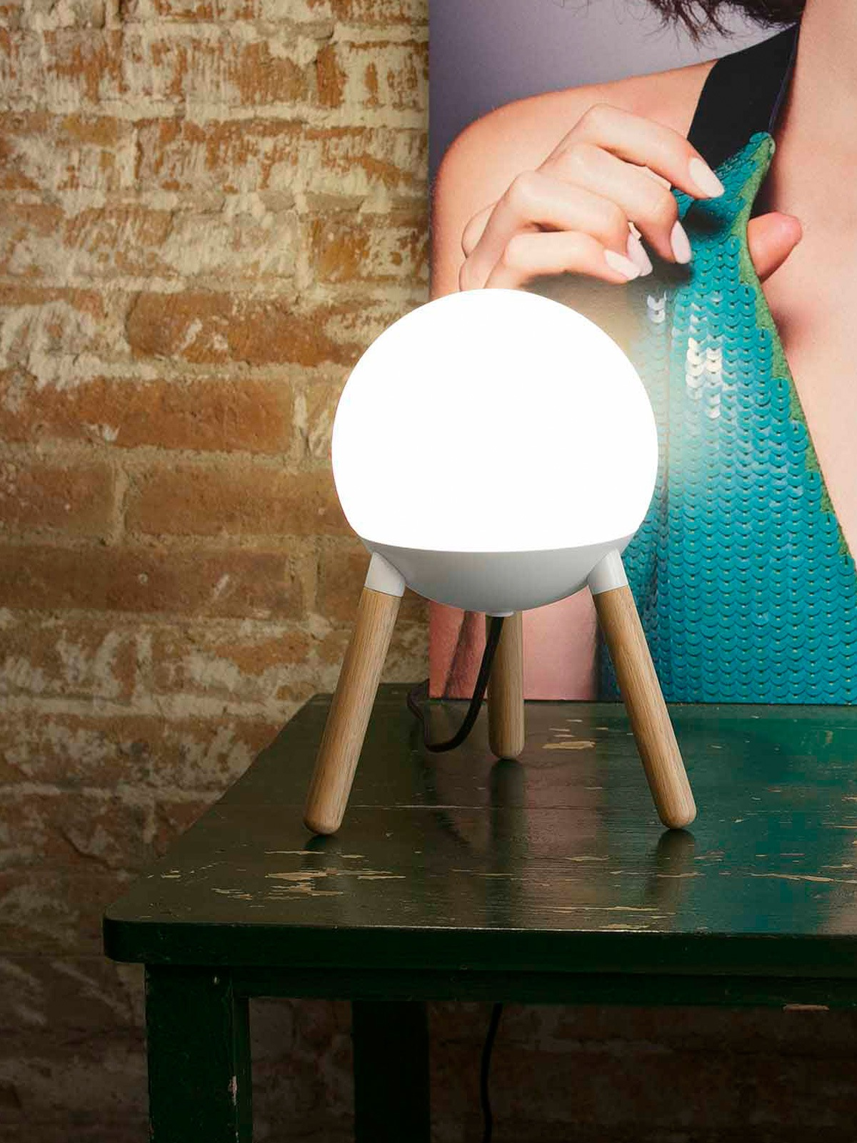 Faro Lampe Mine Table DesignOrt Onlineshop Leuchte